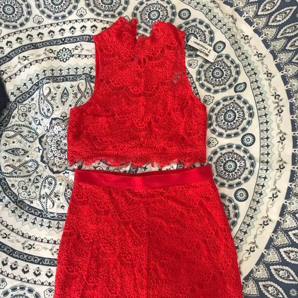Show Me Your MuMu Dresses & Skirts - Matching Lace Set